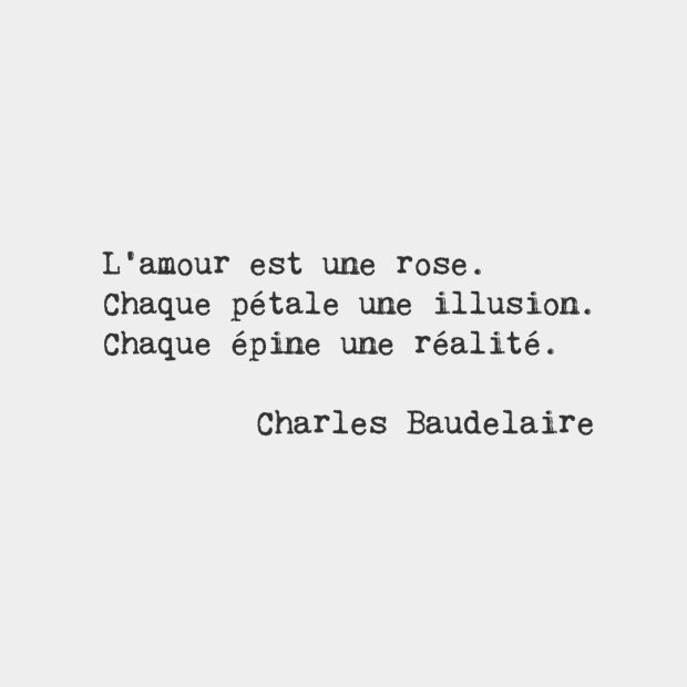 Citation Baudelaire