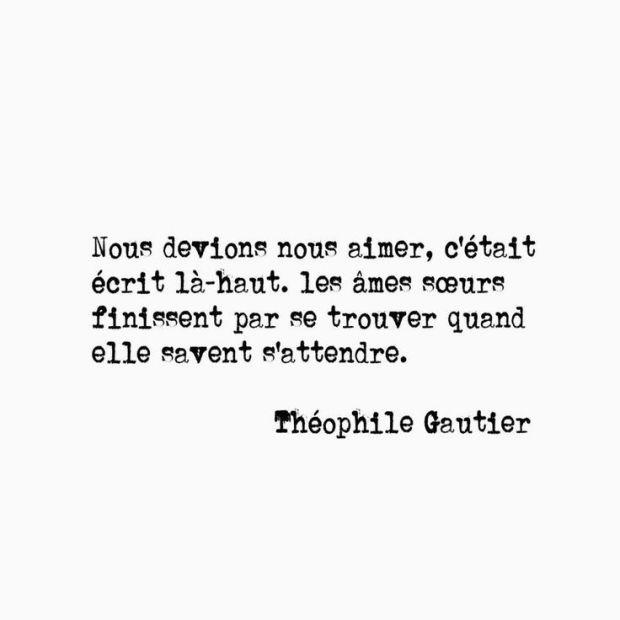 Citation Théophile Gauthier